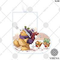"""Пошита Іграшка новорічна """"Ялинкова прикраса"""" для вишивання (ІН_012 Virena)"""