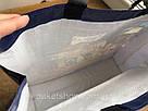 Лакова Сумка поліпропіленова з ручками 39*39*15 см Лондон, фото 4