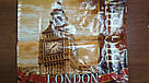 Лакова Сумка поліпропіленова з ручками 39*39*15 см Лондон, фото 3