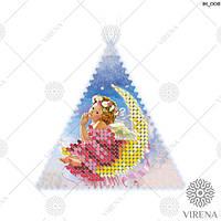 """Пошита Іграшка новорічна """"Ялинкова прикраса"""" для вишивання (ІН_008 Virena)"""