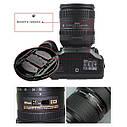 Защитная крышка для объектива Nikon 72 mm., фото 2