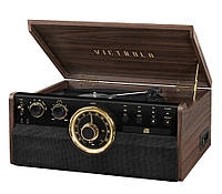 Граммофон  VICTROLA Retro VTA-270B-ESP-EU Brown, фото 1