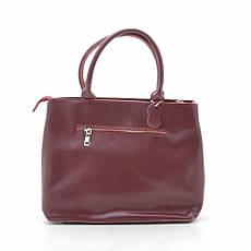 Женская сумка F-229 wine красная, фото 3