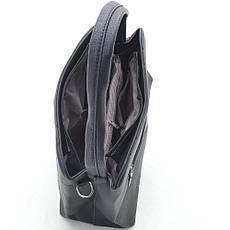 Женская сумка 6328 т.серебро, фото 3