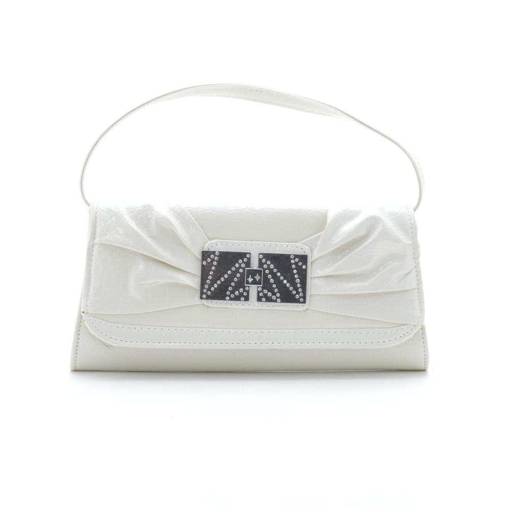 Вечерний клатч 86211131 white