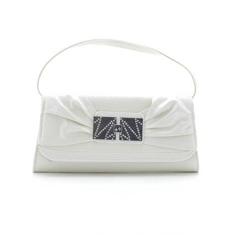 Вечерний клатч 86211131 white, фото 2