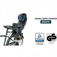 🔥✅ Детское велокресло Tilly T-841 для детей с установкой позади сиденья