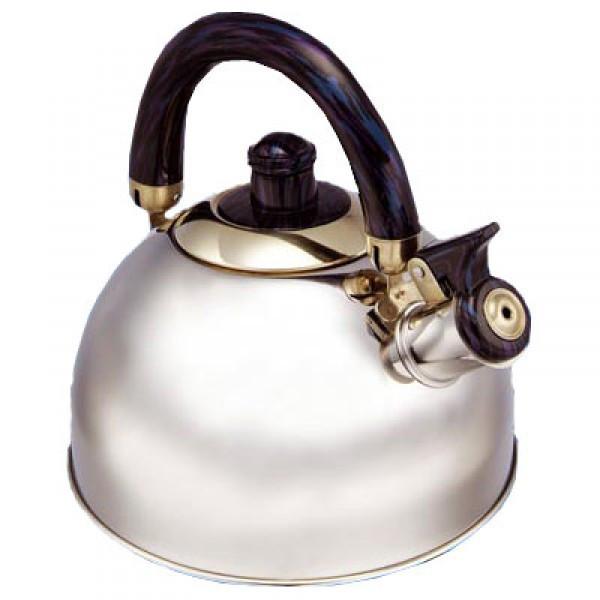 Чайник со свистком Maestro Black черная ручка 1,8л нержавейка (1300Black MR)