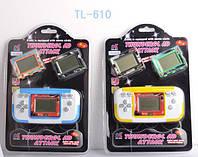 Тетрис, ч/б экран, 3игры, 2карточки, 4вида, на планшете 12.5х7х2,5 см(144 шт/2)