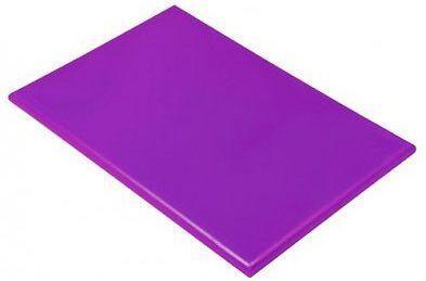 Доска кухонная Hendi НАССР фиолетовая 45х30 см h1,3 см пластик (825570)