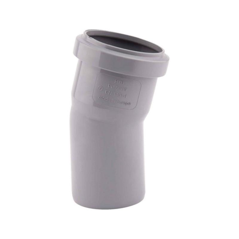 Колено PPR TA Sewage 50х50, 15°