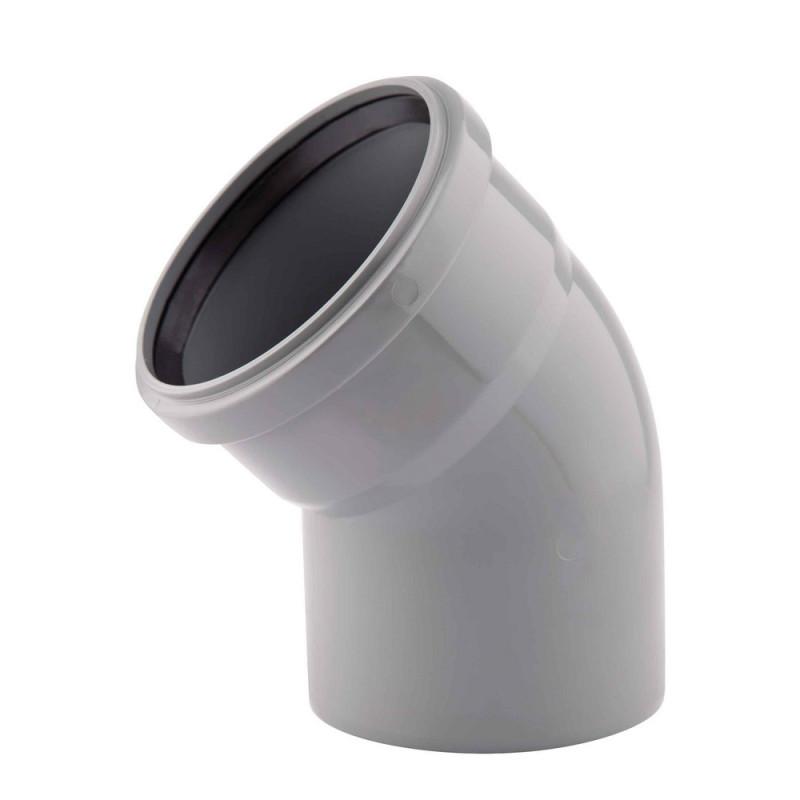 Колено PPR TA Sewage 50х50, 45°