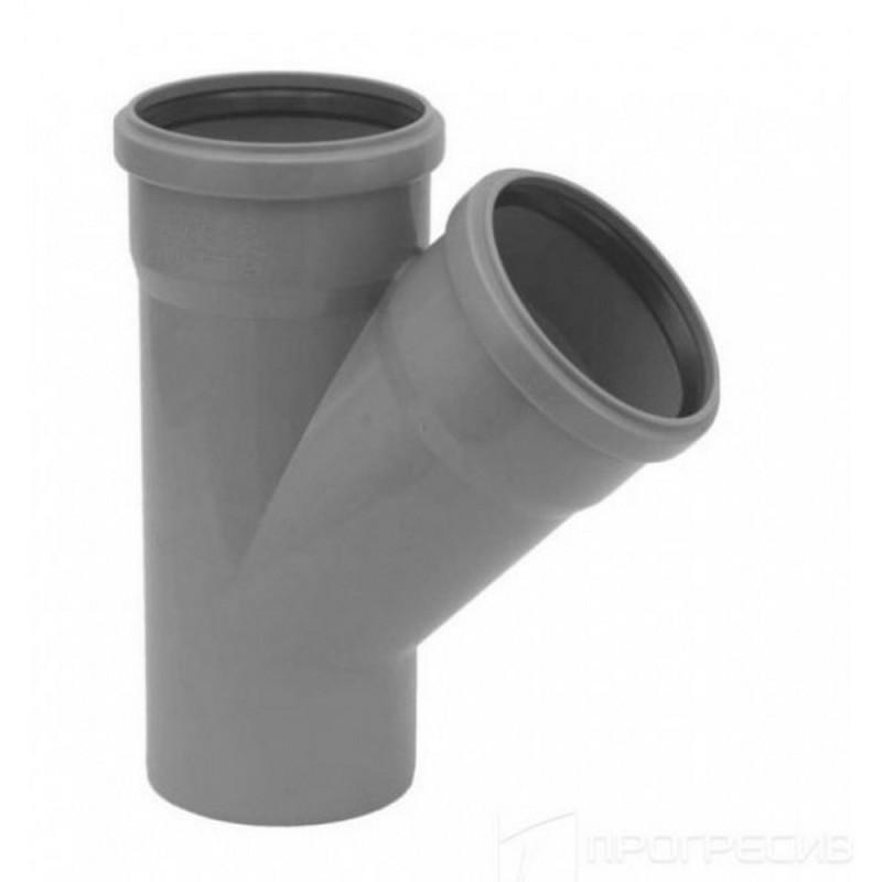Тройник TA Sewage 110х110х110, 45°