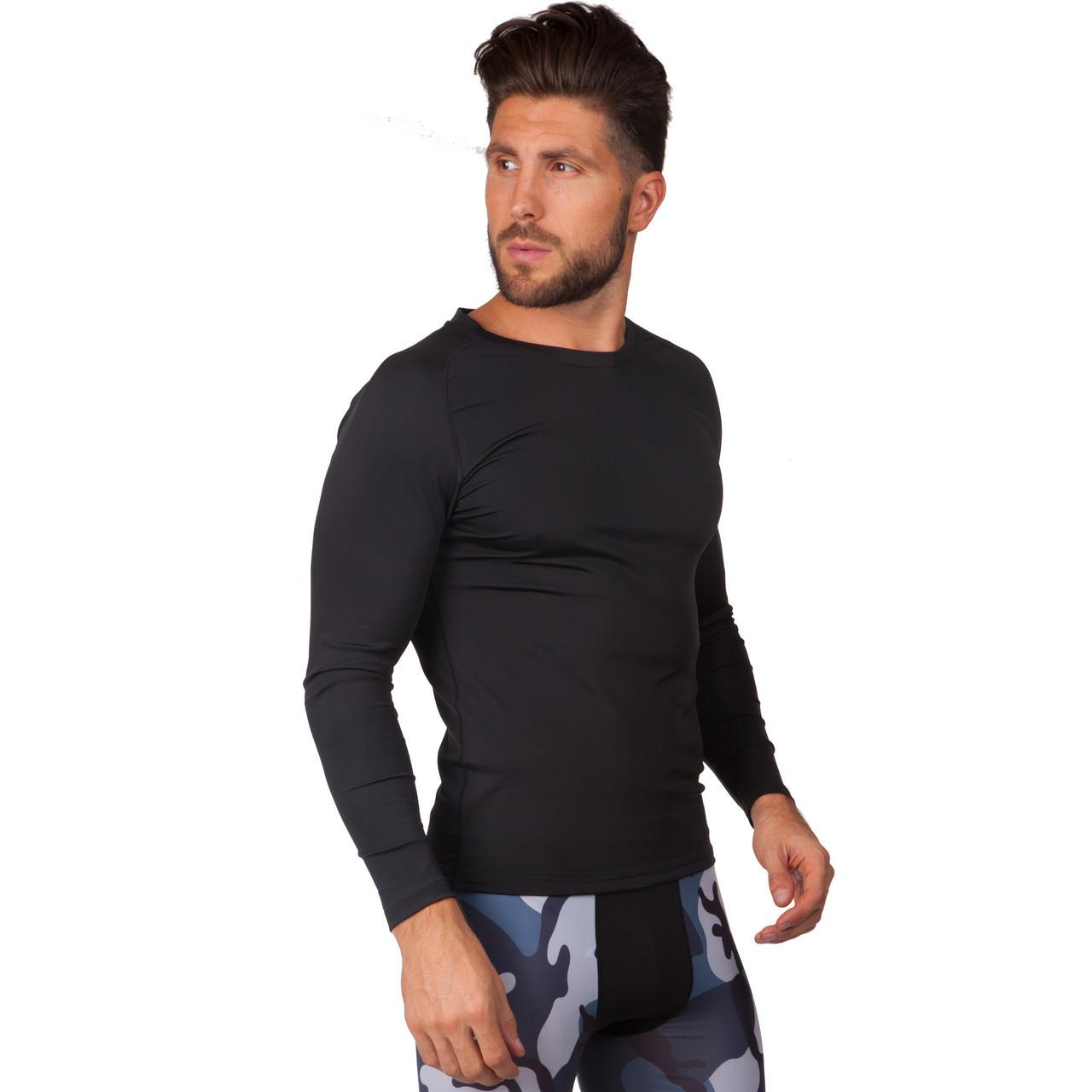 Компрессионная мужская футболка с длинным рукавом Domino 1716