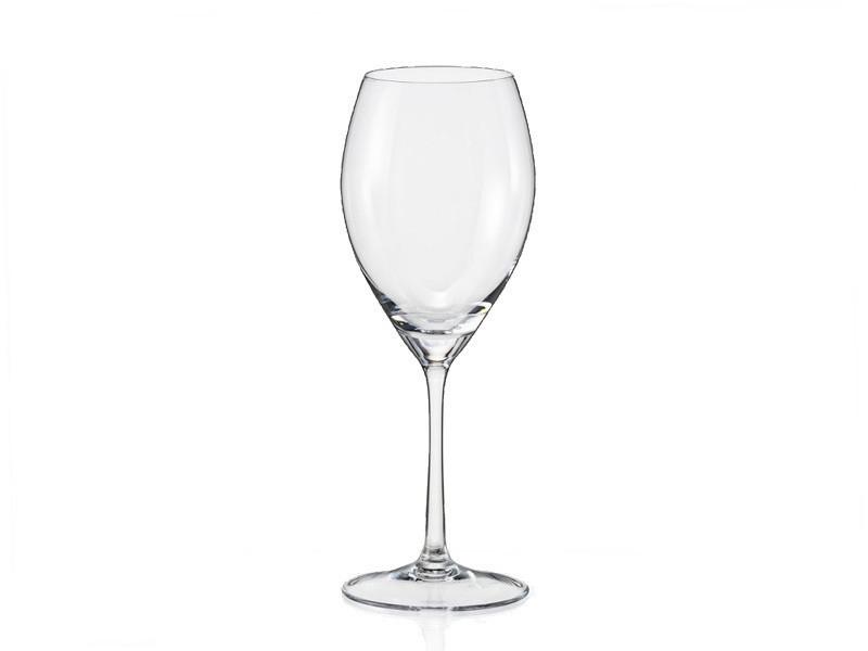 Набор бокалов для вина Bohemia Sophia 6 штук 390мл богемское стекло (40814/390)