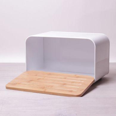 Хлебница Kamille  белая 35х20 см h21 см (1107White K)