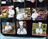 Магнит для холодильника, Шеф-повар, полистоун/металл, Сувениры, Днепропетровск, фото 3