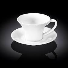 Чашка чайная с блюдцем Wilmax  330мл фарфор (993171 WL)