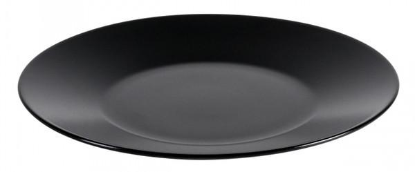 Блюдо Ipec Cairo чорний круглое d31 см керамика каменная (30902386)