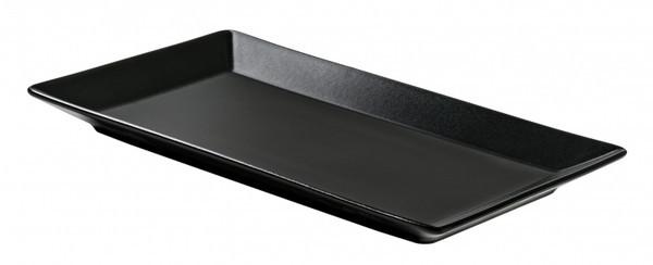 Блюдо Ipec TOKYO чорний прямоугольное 25х15 см керамика каменная (30900245)