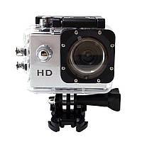 Мини-камера HD Sport Action + Аквабокс (silver)