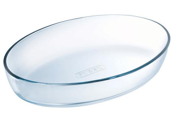Емкость для запекания Pyrex Classic овал 39х27 см жаропрочое стекло (347B000)