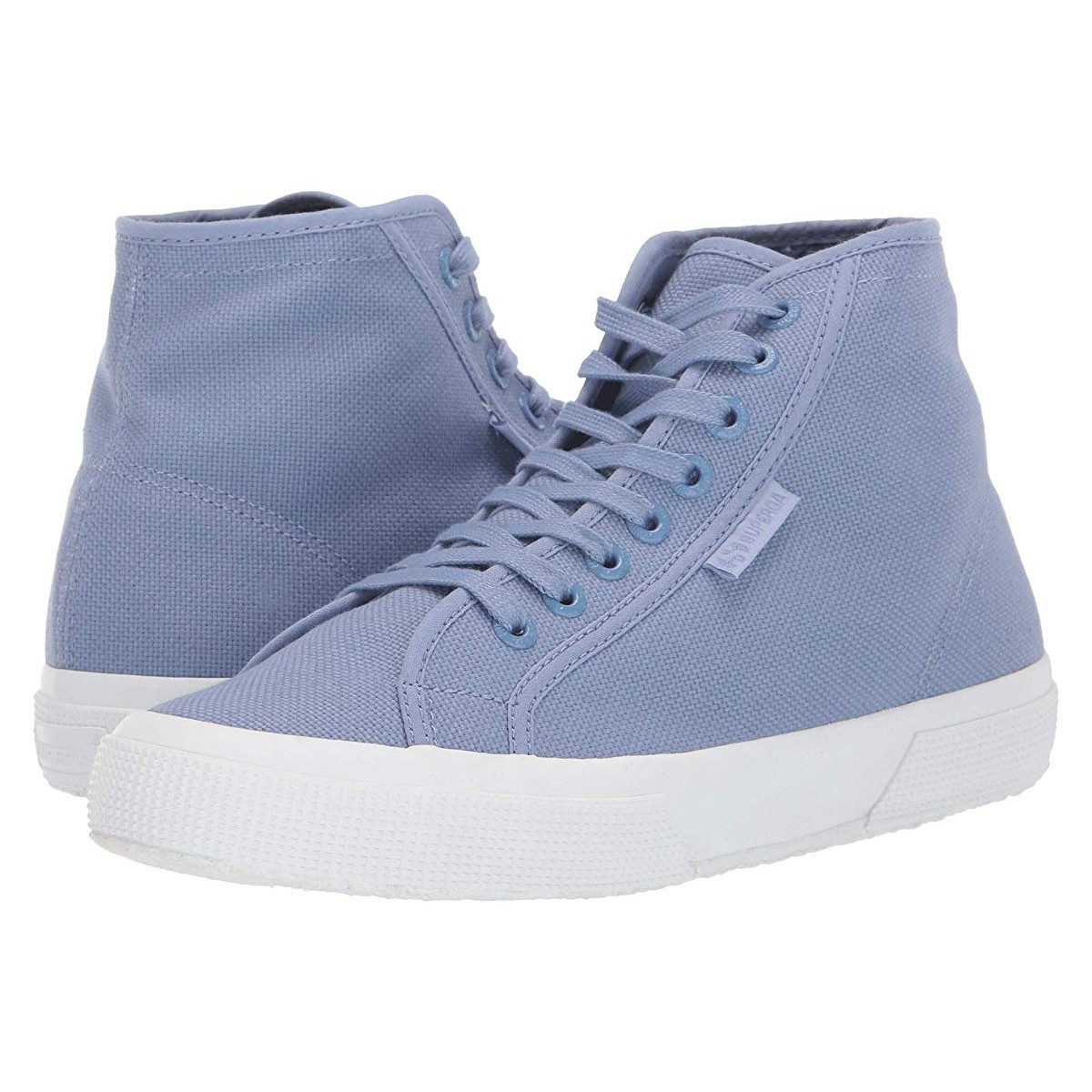 Кроссовки Superga 2795 Cotu Blue/Light Violet - Оригинал, фото 1