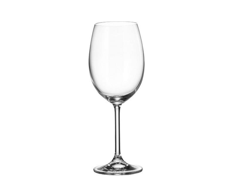 Набор бокалов для вина Bohemia Colibri 6 штук 450мл d6,5 см h22 см богемское стекло (4S032/450)