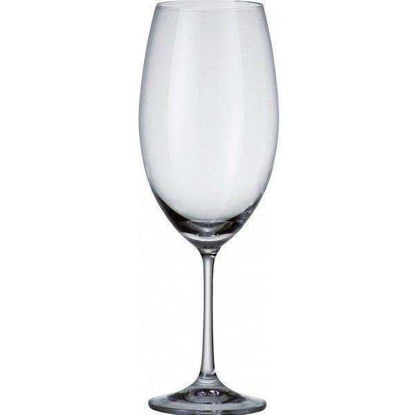 Набор бокалов для вина Bohemia Milvus 6 штук 510мл богемское стекло (1SD22/510)