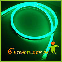 ЗЕЛЕНЫЙ гибкий неон на светодиодах Лед неон флекс (LED NEON FLEX)