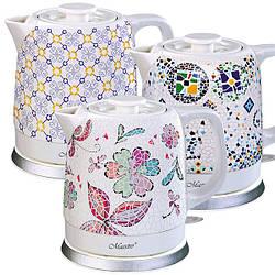 Чайник Maestro  1,5л керамика (068 MR)