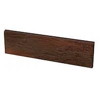 Клинкерная плитка Paradyz Semir brown плинтус 30*8,1 см