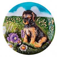 Lefard Декоративная тарелка Собачка 20 см