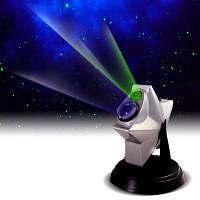 Проектор звездного неба домашний планетарий Laser Stars, фото 1