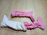 Сапожки-тапочки для дома флисовые, фото 7