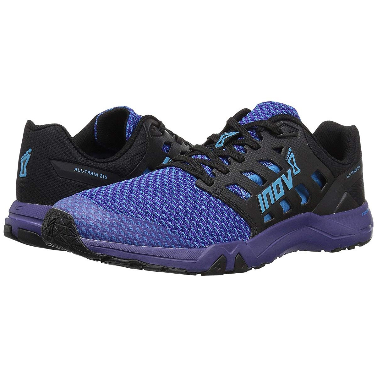 Кроссовки inov-8 All Train 215 Knit Blue/Purple - Оригинал, фото 1