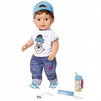 Zapf Creation Кукла Стильный братик Baby Born Нежные объятия
