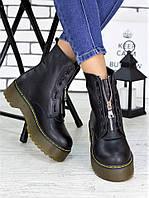 Ботинки кожаные Mart!ins 7158-28, фото 1