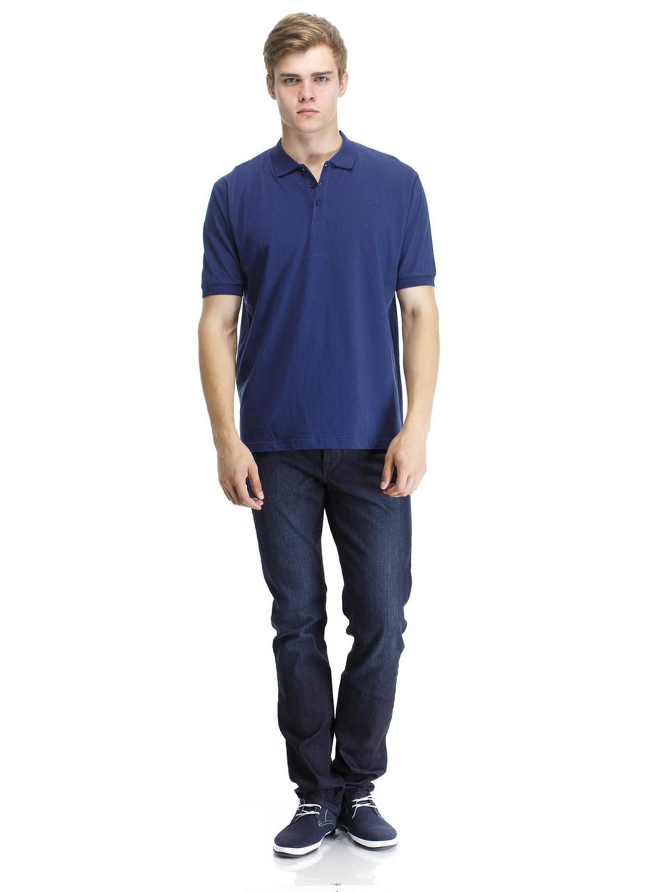 Поло Montana 21169-2 middle blu