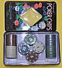 Покерні фішки в жестяній коробці-100 IG-1102110, фото 2