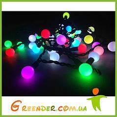 Гирлянды-шарики / мини занавес Айсикл Плей Лайт, светодиодная гирлянда бахрома RGB