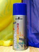Краска аэрозоль (краска в баллонах) Синяя RAL5002 400 мл (New Ton)