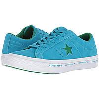 Кроссовки Converse One Star& Pinstripe Ox Hawaiian Ocean/Jolly Green - Оригинал