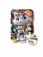 """Пазлы магнитные А5 """"44 Cats"""" VT3205 (""""Миледи в городе"""" (укр))"""