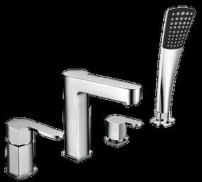 Смеситель для ванны врезной Welle Ernest AR28218D-1303