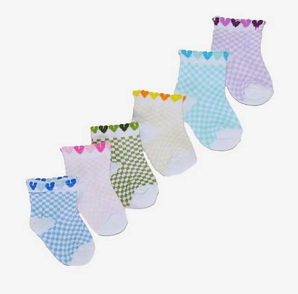 Детские носки на девочку (D3066) | 12 пар, фото 2