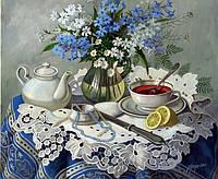 Красивый натюрморт для кухни Цветы