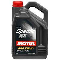 Motul Specific VW502.00-505.00-505.01 5W-40, 5л