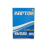 Тетрада. Картон А4 белый (4820049490435)