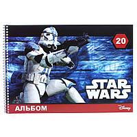 Ранок. Альбом для рисования Star Wars пружина, 20 листов (4820175685996)